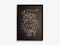 You Make Me So Very Very Happy