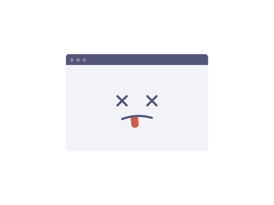 Browser Unsupported dead illustration vector unsupported browser