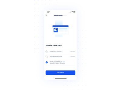Coinbase mobile onboarding product design coinbase cryptocurrency crypto mobile onboarding