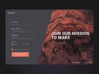 001 - Signup Dribbble