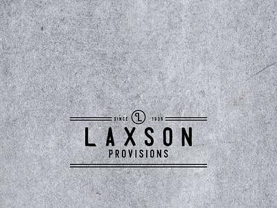 laxson icon design logo