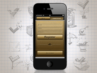 Smthngs register screen final h-a-n-d-s apple gui interface iphone
