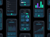 App analytics | Black concept