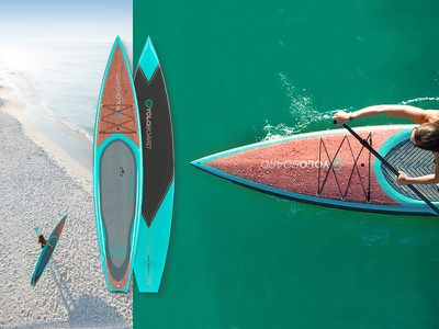 YOLO Board Predator board design stand up paddle board product design water sports paddle ocean beach sup product