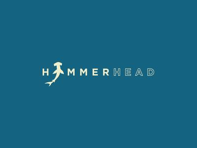 Hammerhead Logo product logo hammer sup ocean shark