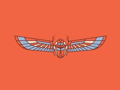 Locust  flying bug beetle locust fly wings bug egyptian