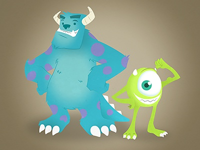 Monsters Inc monsters inc sulley mike wazowski