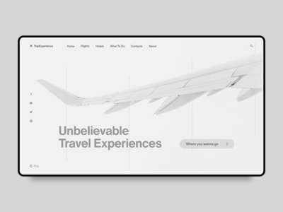 TripExperience Website UI | 012