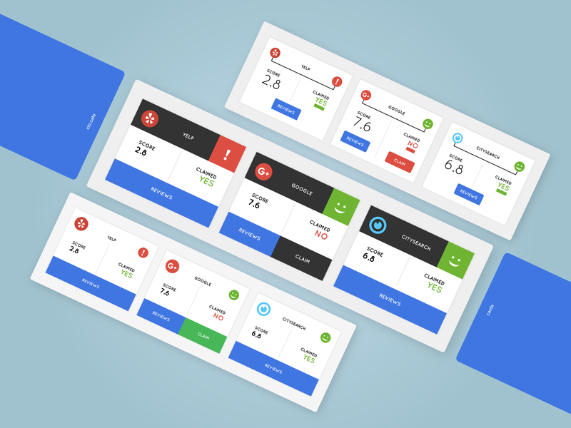 Status Cards vector web service web redgreenblue rgb primary colors primary colours buttons userinterface uidesign minimalism ui card card design cards ui cards