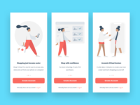 Onboarding Slides For a Virtual Fitting App