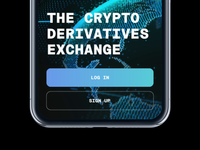 Start Screen Background Animation for a Crypto Trading App