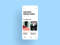 Shopping App Animation Concept