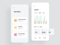 Medical App / Profile & Activity