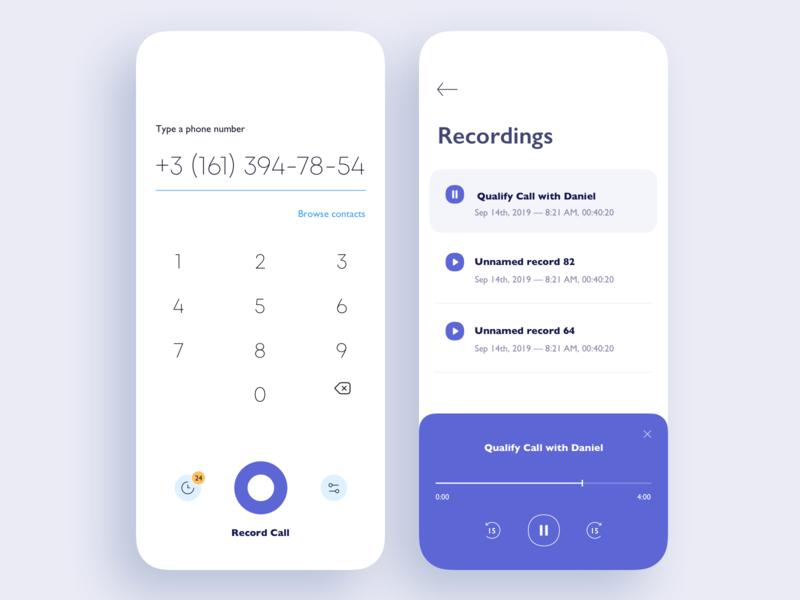 Call Recording App