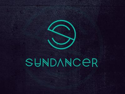 Sundancer logo identity trance branding logo