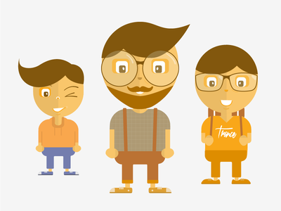 Characters illustration
