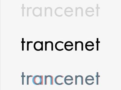 Trance.net - logo logo draft graphic branding logo