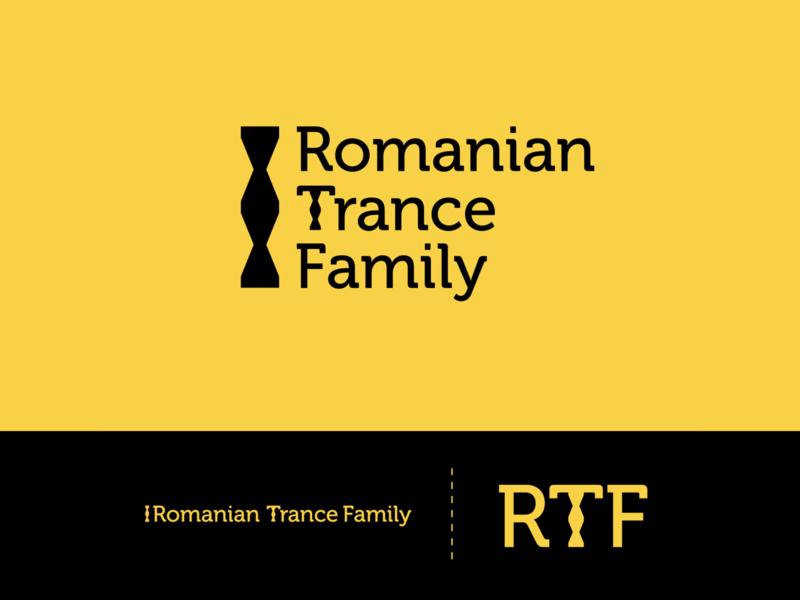 Romanian Trance Family - logo trance family branding logo