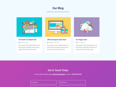 GetLeads - Marketing HTML Landing Page Template ui ux landing page concept landing page ui landingpage landing page design web app business startup template startup campaign one page themeforest creative product launch startup marketing landing page