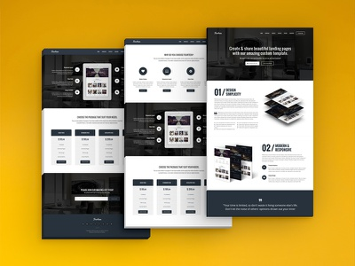 Fourteen - Landing Page landing page apps business company corporate creative launch one page promotion responsive startup web apps