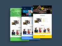 Royalet | One Page Bootstrap WordPress Theme