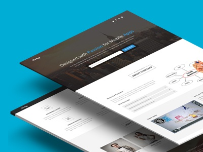 Startapp - Landing Page startup template startup themeforest one page web app landing page marketing campaign marketing product launch mobile app click-through responsive template