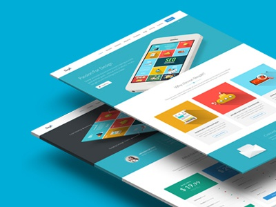 Simple - Landing Page landing page startup marketing themeforest product launch app mobile app creative promotion start-up template startup template