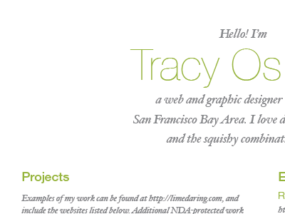Resume resume print