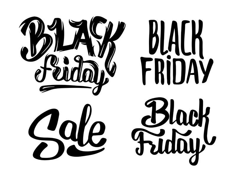 Black Friday Sale Lettering By Yurlick