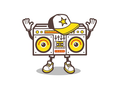 Boombox comic character