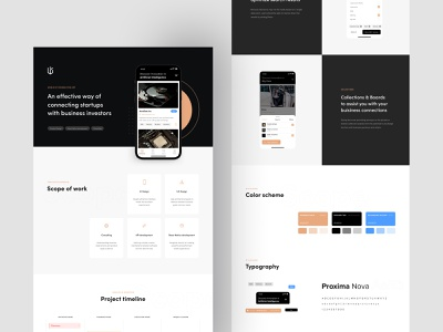 World of Possibilities – UX/UI Design –  Mobile app case study app typography minimal dark modern clean interface presentation product design mobile app ux design ux ui design ui