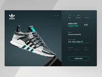 Adidas EQT checkout concept