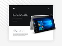 HP Envy x360 – Landing Page