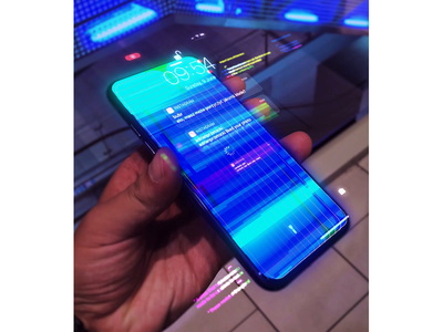 2077 – iOS Glitch #01 after effects animation iphone apple ar vr augmented reality cyberpunk glitch effect glitch ios motion design motion graphics virtual reality 2077