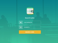 Flat Search Form Prototype