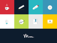 Playing with colours and icons