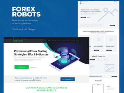 Forex Robot website