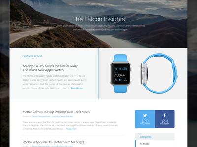 Blog - Falcon Consulting