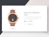 Watch Product Card