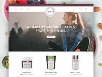 Tonic  ::  Homepage