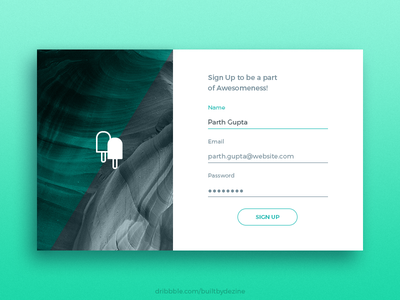 Daily Ui-day001 Signup form day001 signup ui dailyui