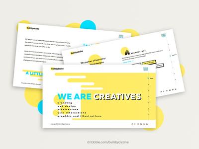 Portfolio Concept for Design Studio