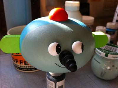 my Neighborwood, in progress maura cluthe custom toy neighborwood wooden toy the happy robot