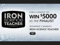 AD: IRON SCIENCE TEACHER