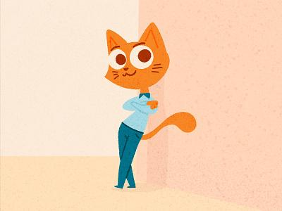 cat concept 😸 cartoon illustration character cat character design vector art vector vector illustration digital illustration flat illustration illustration