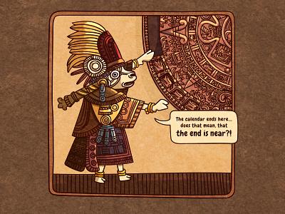 maya sheep 🐑 civilization mayan sheep comic style line art vector illustration digital illustration illustration