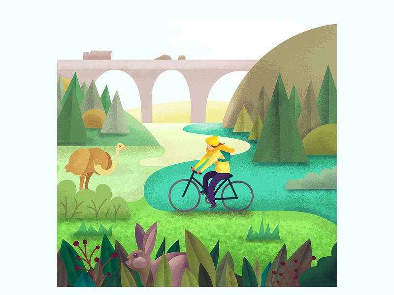 Springtime biking adventures