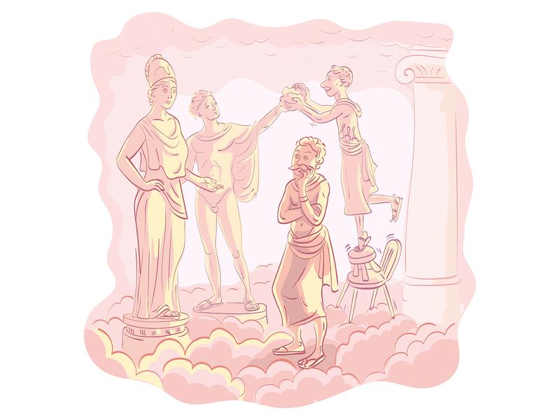 Waxworks of the Greek Gods