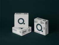 ATMO Brand Identity WIP face masks covid 19 packaging design logo brand mark branding agency brand design branding logo design