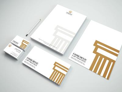 Osborne Law Practice Brand Identity brand identity design design affinity serif logo mark branding agency affinity designer branding brand design logo design